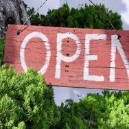 Eindelijk OPEN!